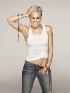 Pink's Body Tank Top And Jeans