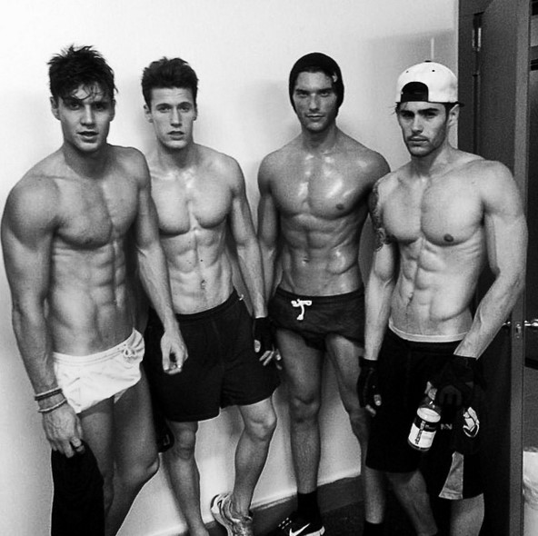 Attractive Male Body Models